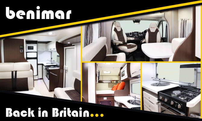8a952d1e2f Motorhome and Caravan News from across UK. Benimar Mileo 201 shortlisted  for Compact Motorhome of the Year 2015!