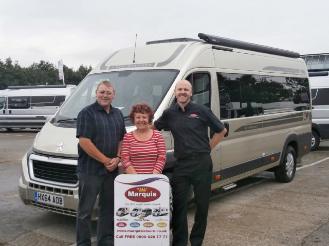 This Was Exactly What The Couple Had In Mind For Their Next Motorhome And With Fantastic Part Exchange Price Offered New Order Placed