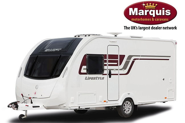 The great British park off - Win a caravan!