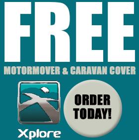 Free Motormover and Caravan Cover
