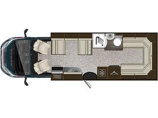 Apache 700 Floorplan