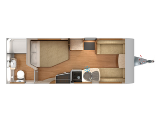 Quasar 544 Floorplan