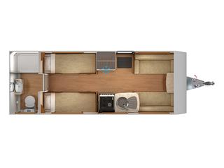 Quasar 554 Floorplan