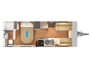 Quasar 574 Floorplan