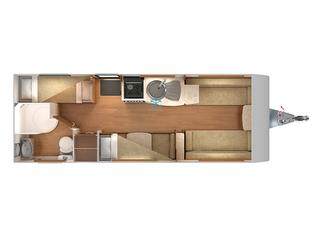 Quasar 586 Floorplan