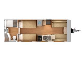 Delta TS Floorplan