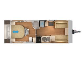 Delta TR Floorplan