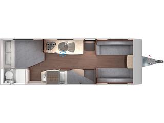 Venus 620/6 Floorplan