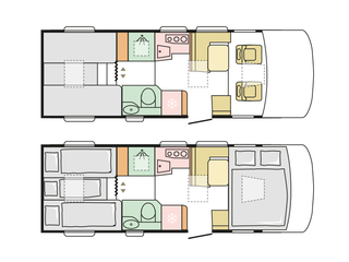 Sonic 710SL Floorplan