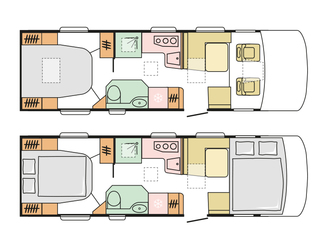 Sonic 810SC Floorplan