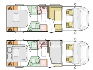 Matrix 670SC Floorplan