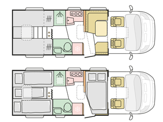 Matrix 670SL Floorplan