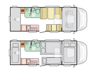 Coral XL 670DK Floorplan