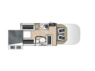 Primero 283 Floorplan