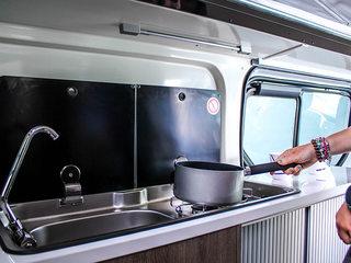 Randger R535 Kitchen hob & sink