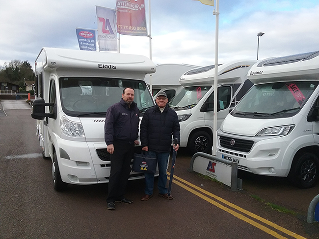 """daab57b64335 He was pleased with the industry leading AutoMarq 3-year guarantee that s  offered on all of our pre-owned motorhomes. """"Marquis pioneered the AutoMarq  scheme ..."""