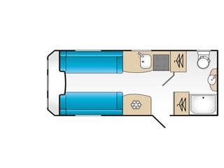 VIP 460 Floorplan