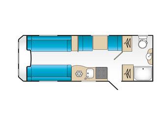 VIP 520 Floorplan