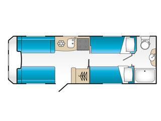 VIP 565 Floorplan