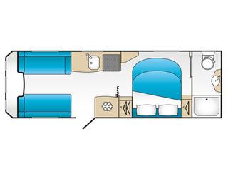 VIP 575 Floorplan