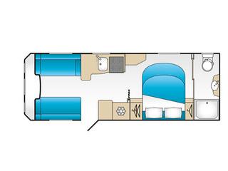 Laser Xcel 875 Floorplan
