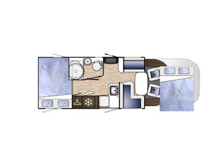 Mileo 243 Floorplan