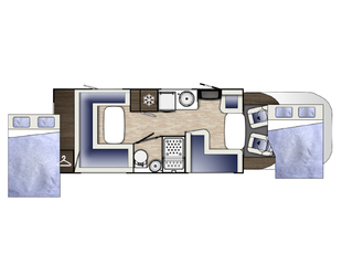 Mileo 282 Floorplan