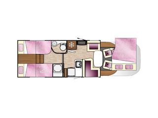 Tessoro 463 Floorplan