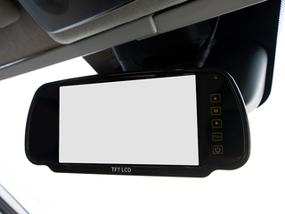 Rear View Observation Camera Display