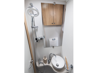 Majestic 115 Shower and Toilet