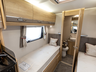 Majestic 185 Fixed Single Beds