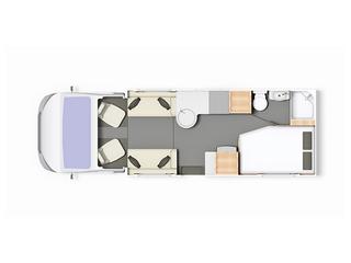 Majestic 255 Floorplan
