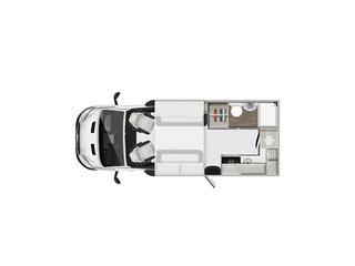 Tribute F62 Floorplan