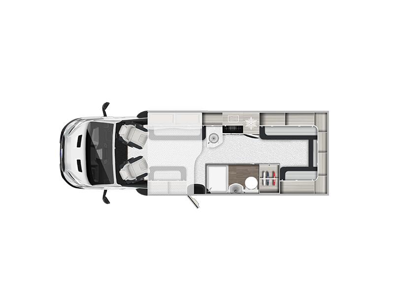 View the AUTO-TRAIL TRIBUTE COACHBUILT F72