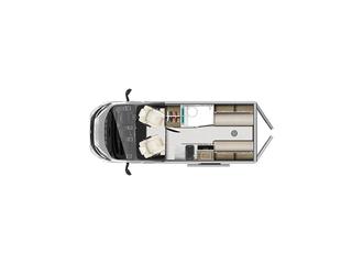 V Line 540SE Floorplan