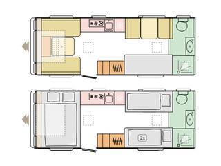 Adora 623 DT Sava Floorplan