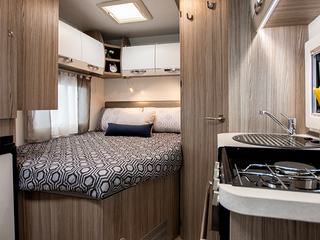 Primero 331 Rear Bedroom