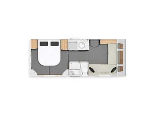 Casita 454 Floorplan