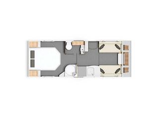 Casita 550 Floorplan