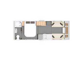 Casita 554 Floorplan