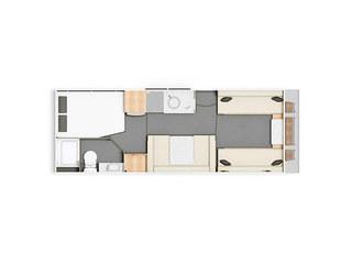 Casita 840 Floorplan
