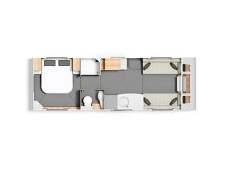 Casita 860 Floorplan