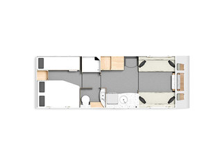 Casita 868 Floorplan
