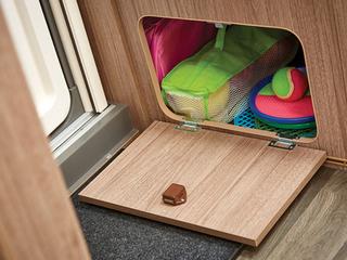 Underseat storage