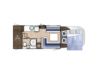 Mileo 286 Floorplan