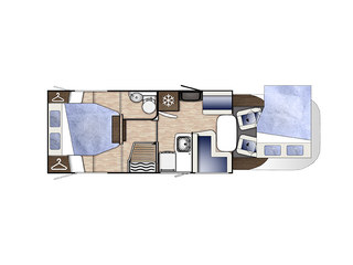 Mileo 294 Floorplan