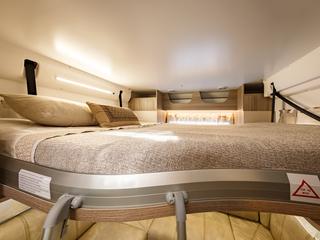 Mileo 282 Rear Drop Down Bed