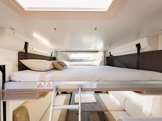 Mileo 286 Drop Down Bed