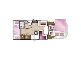 Tessoro 413 Floorplan