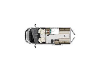 V-Line 540SE Floorplan